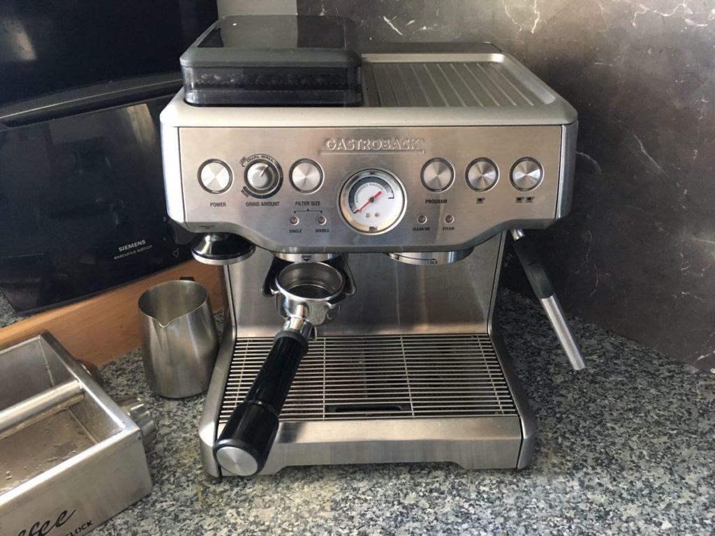 Gastroback Siebträger und Kaffeemaschinen Reparatur