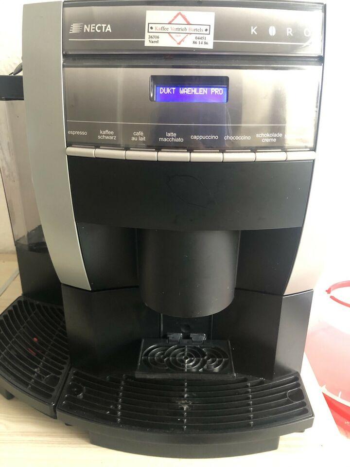 Necta Kaffeevollautomat reparieren