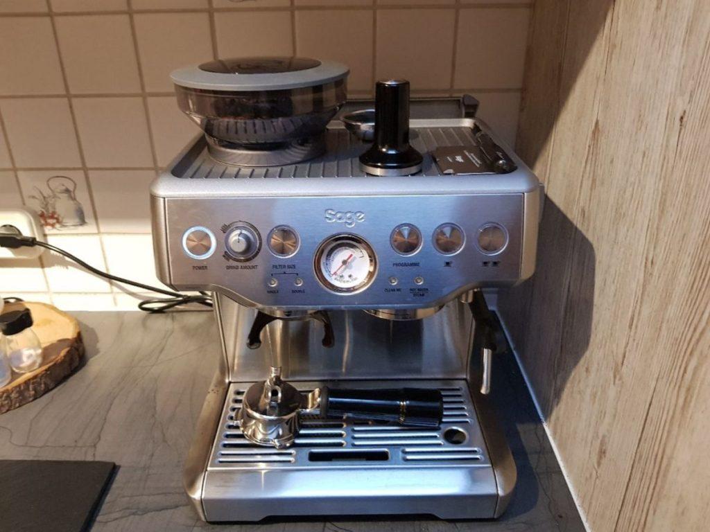 Sage Kaffeevollautomat reparieren und warten